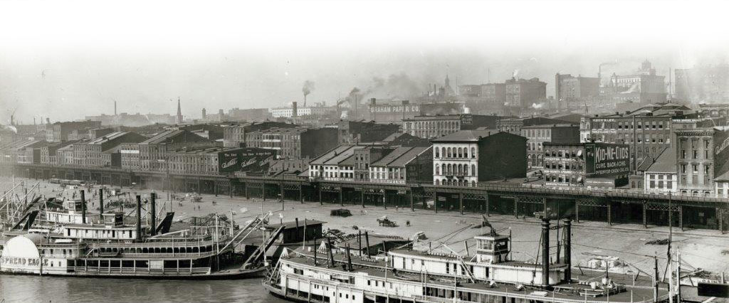 St. Louis Riverfront in 1904